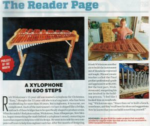Popular Mechanics article that made us famous!